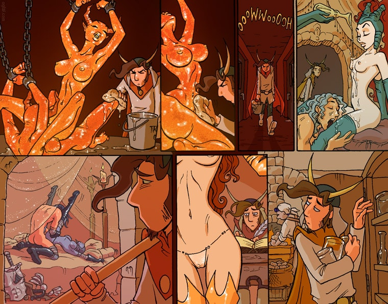 Page from Oglaf sexy sucubas