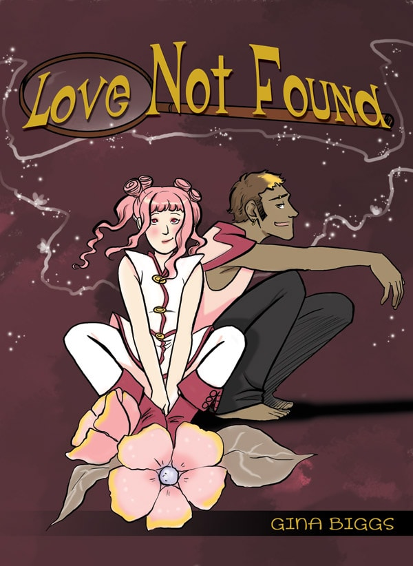 the cover art for erotic webcomic love not found