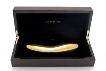 Completely gold vibrator