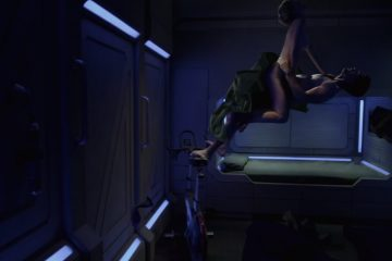 Sex in antigravity demonstrated by scifi series expanse