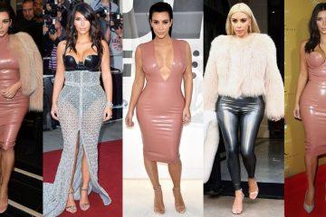 Kardashian's love their latex