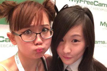 asian girls at AVN